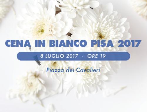 Al via il countdown per la terza edizione della Cena in Bianco Pisa